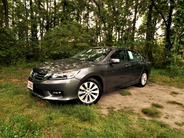 2015 Honda Accord EX-L Leather Int,Side & Rear Cameras, Sunroof,28k
