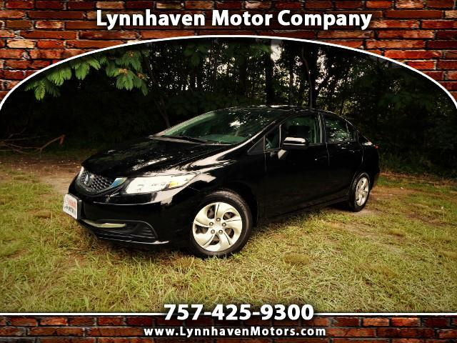 2015 Honda Civic Rear View Camera, Bluetooth, Only 18K Miles !