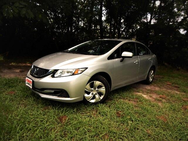 2015 Honda Civic Rear Camera, Bluetooth, Only 24k Miles, 1 Owner!