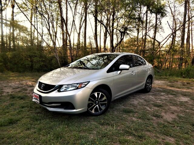 2015 Honda Civic Rear & Side View Cameras, Sunroof, One Owner !