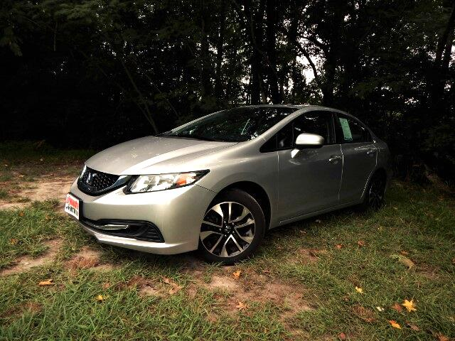 2015 Honda Civic Rear & Side Cameras, Sunroof, One Owner, 25k Miles