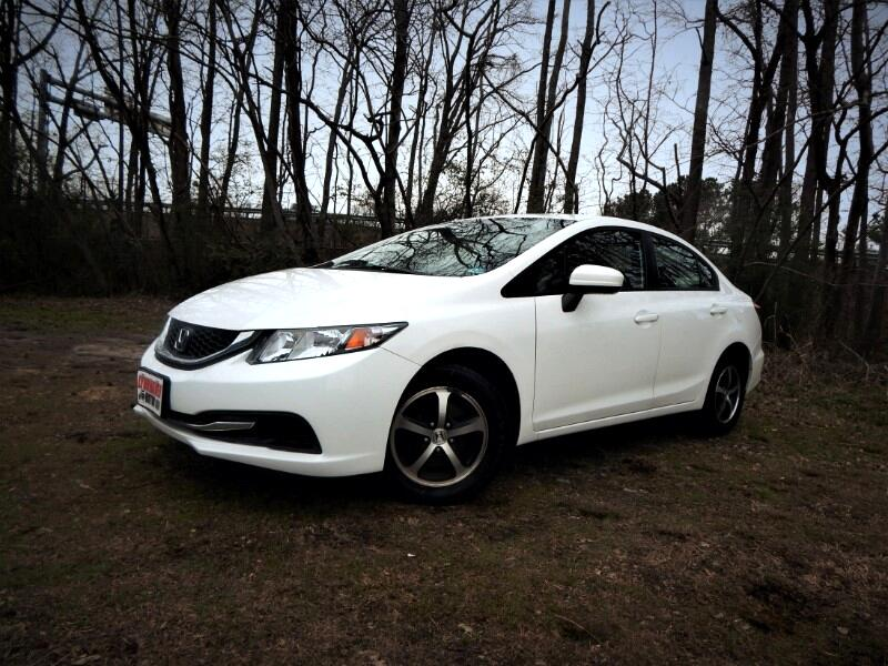 2015 Honda Civic SE w/ Rear & Side Cameras, Bluetooth, 26k Miles!