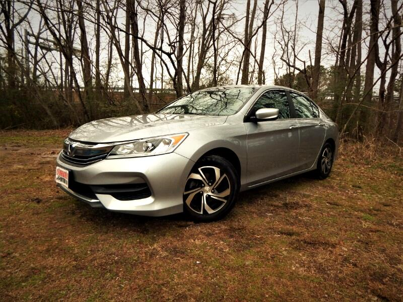 2016 Honda Accord LX w/ Rear View Camera, Bluetooth, Only 26k Miles!