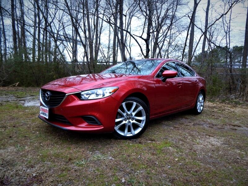 2015 Mazda MAZDA6 Touring Plus,Sunroof,Leather Int.,,Blind Spot,Came
