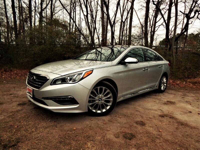 2015 Hyundai Sonata Limited, Panorama Roof, Navigation, Leather Interi