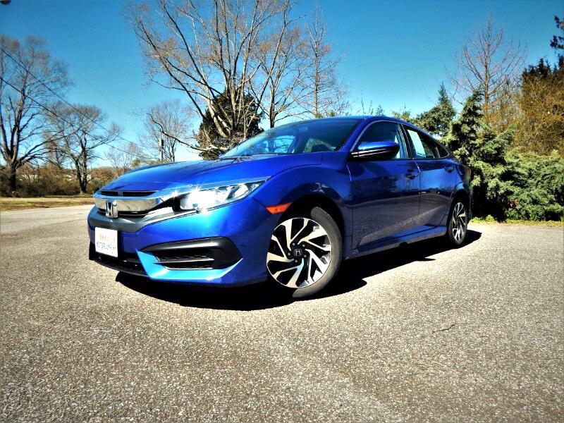 2016 Honda Civic Sunroof, Rear & Side Cameras, Bluetooth,23k Miles!