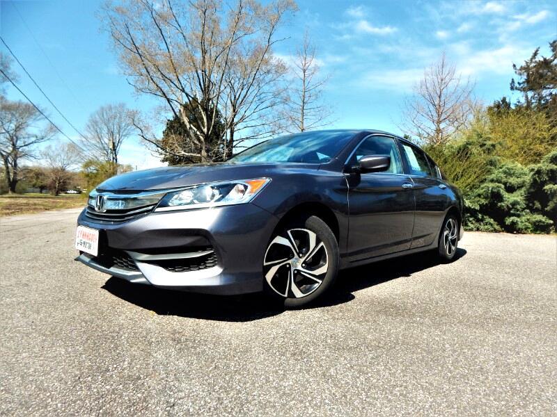 2016 Honda Accord LX w/ Rear Camera,Bluetooth,One Owner,24k Miles!