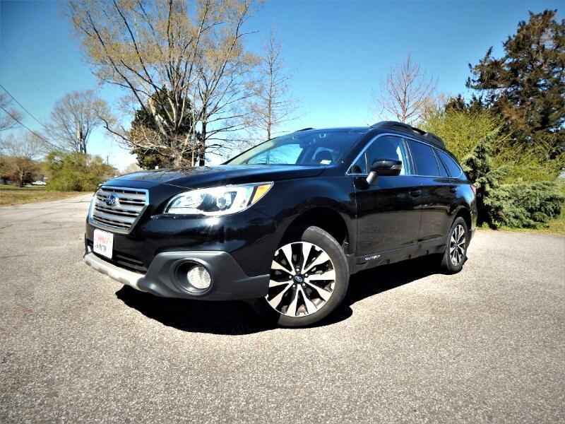 2016 Subaru Outback Limited,Navigation,Sunroof,Leather,Blind Spot,Load