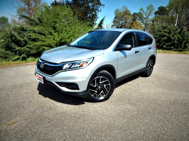 2016 Honda CR-V SE AWD, Rear Camera, Bluetooth, Alloy Wheels!