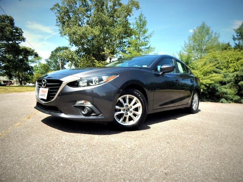 2016 Mazda MAZDA3 Touring w/ Navigation,Sunroof,Rear Camera!