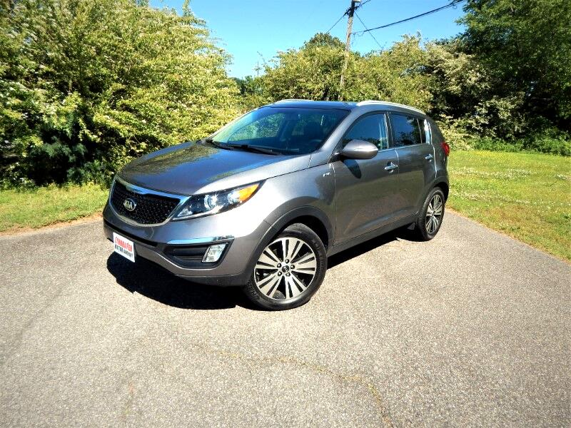 2016 Kia Sportage EX AWD,Panorama Roof,Navigation,Leather Interior!
