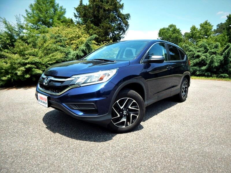 2016 Honda CR-V SE awd w/ Alloy Wheels,RearCamera,Bluetooth,22kMil