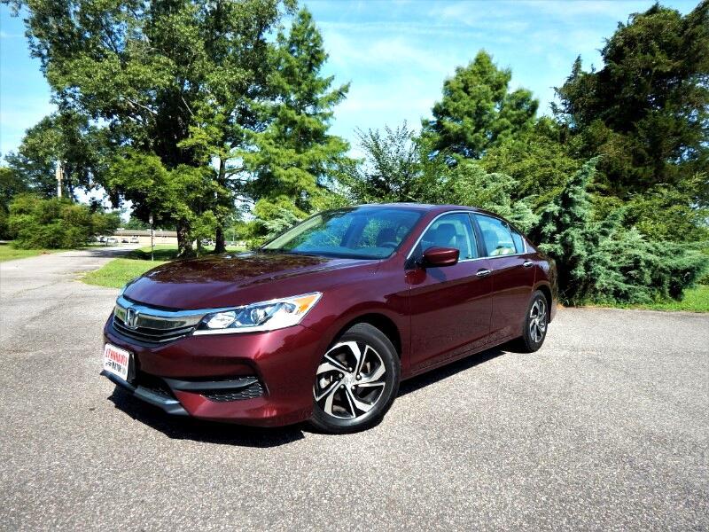 2017 Honda Accord LX w/ Rear Camera,Bluetooth,Alloy Wheels,26k Mis!