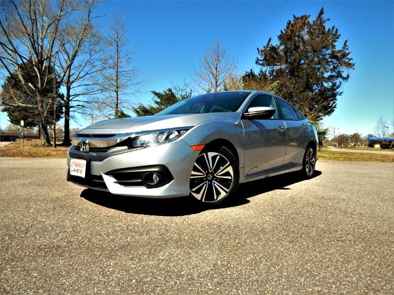 2016 Honda Civic EXT Turbo w/ Sunroof,Rear & Side Cameras,One Owner
