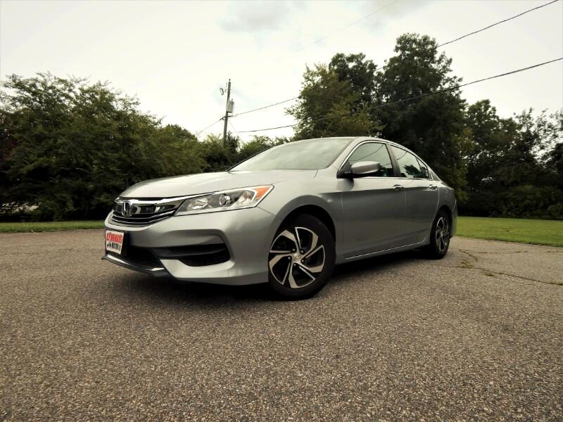 2017 Honda Accord LX w/ Rear Camera,Bluetooth,Only 13k Miles!