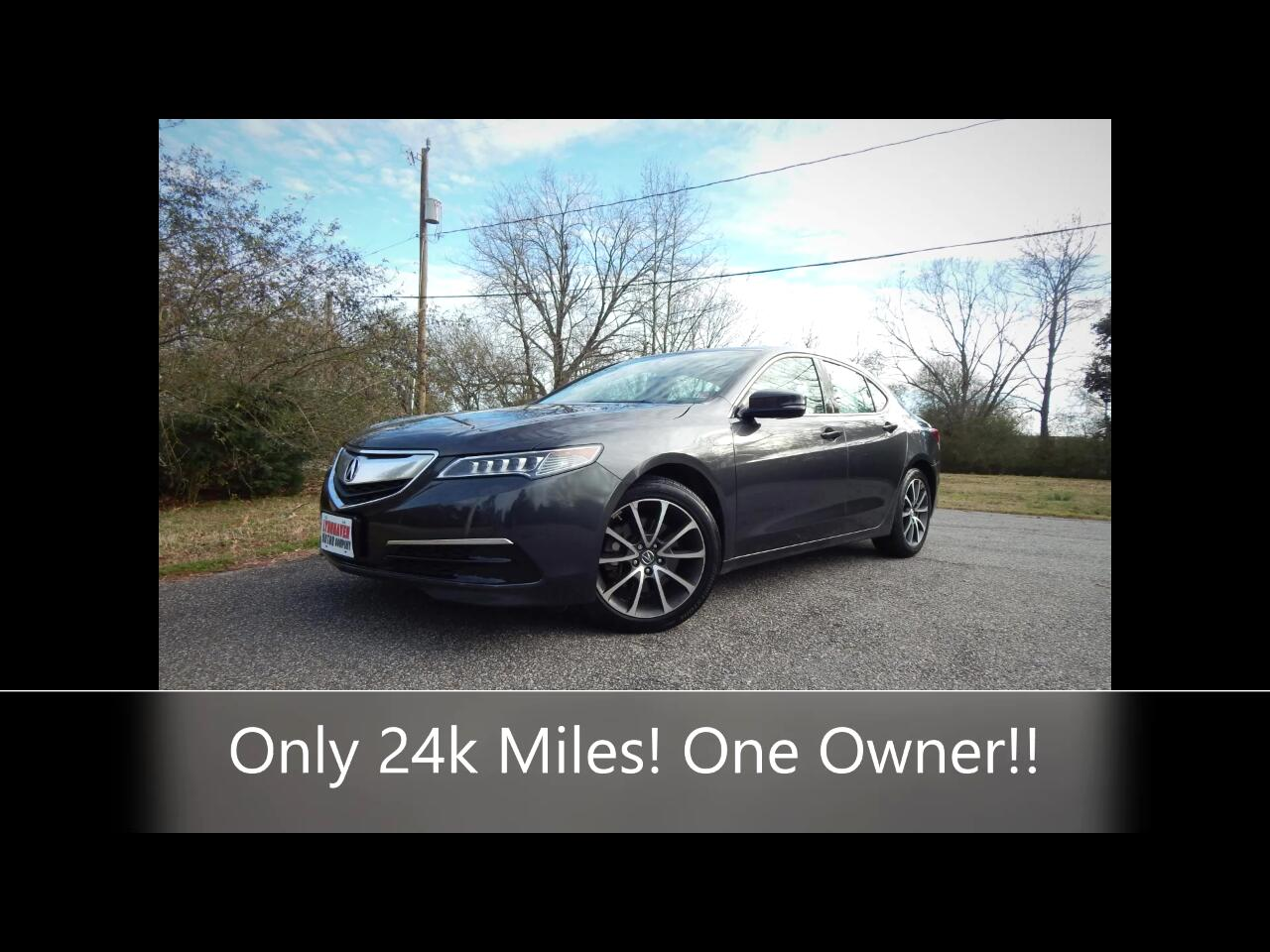 Acura TLX 4dr Sdn FWD 2017