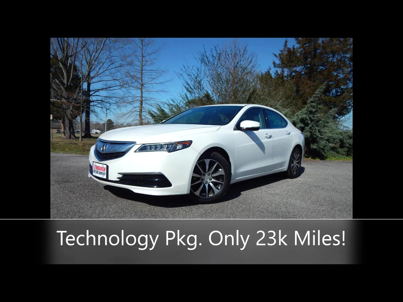 Acura TLX Technology Package 2.4L 2017