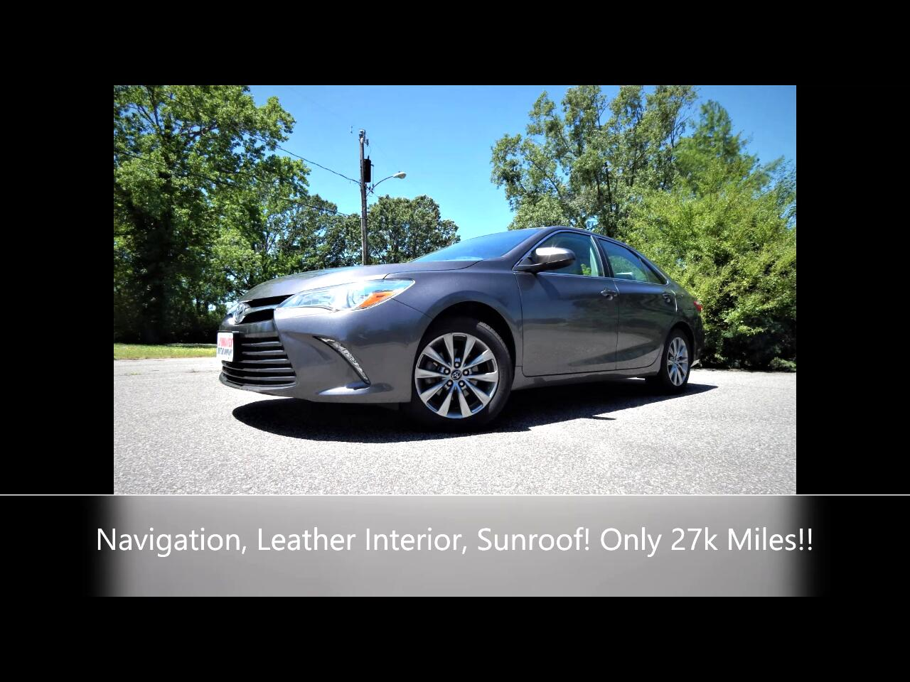 Toyota Camry 4dr Sdn I4 Auto XLE (Natl) *Ltd Avail* 2017