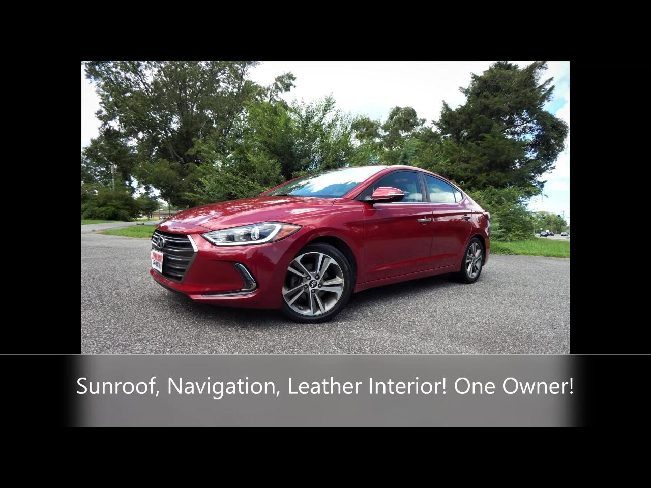 Hyundai Elantra 4dr Sdn Auto Ltd *Ltd Avail* 2017