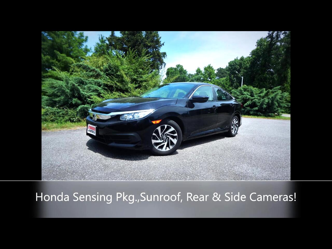 Honda Civic EX Honda Sensing Sedan CVT 2017
