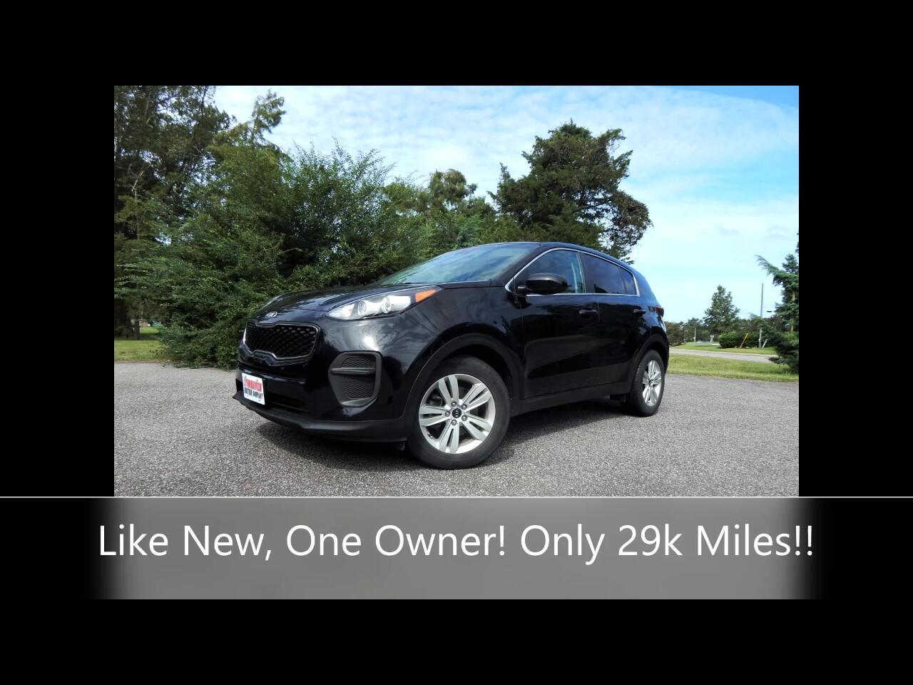 Kia Sportage 4dr LX I4 Auto 2017