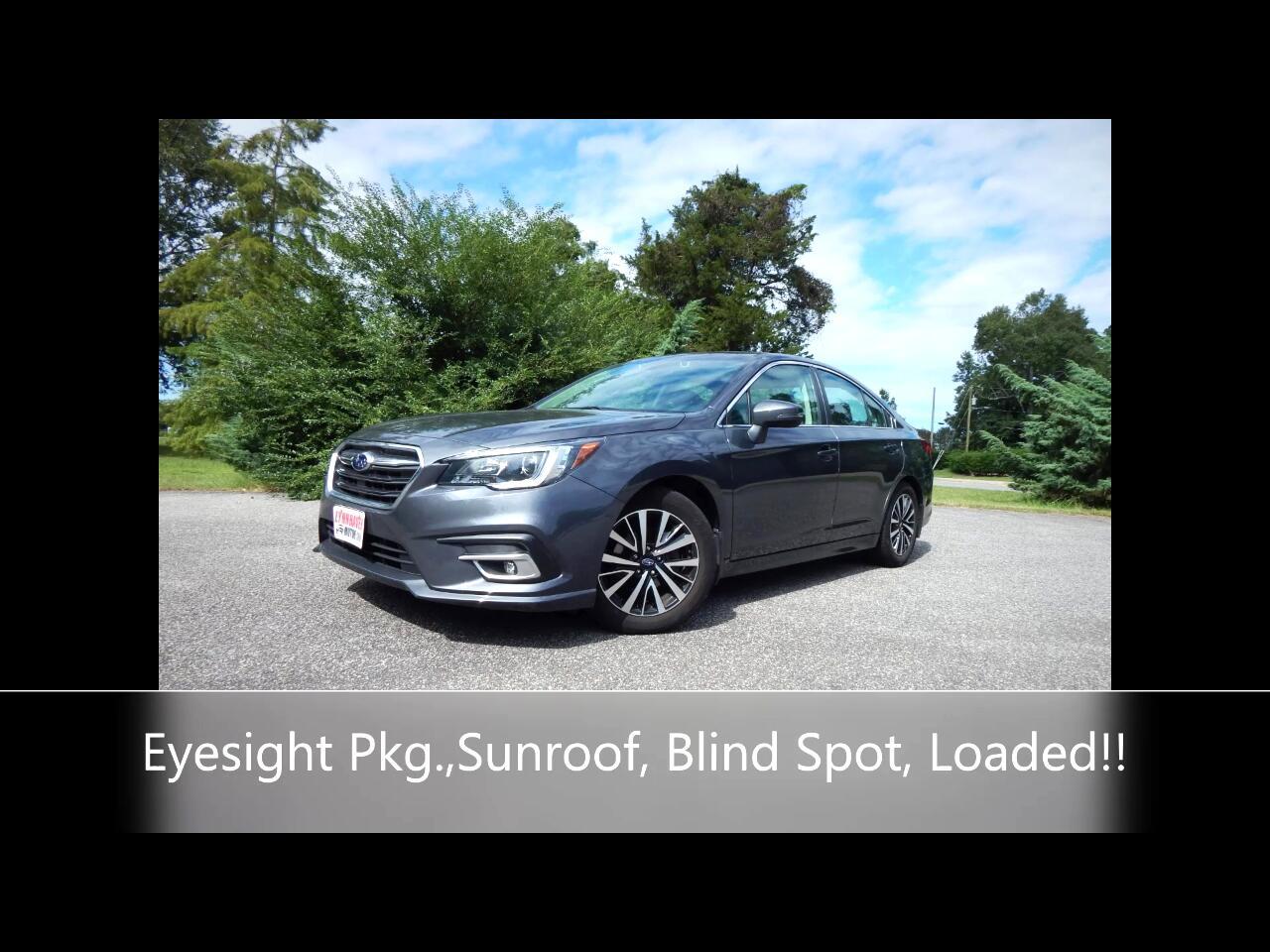 Subaru Legacy 4dr Sdn H4 Auto 2.5i Prem AWP/Pwr Moon 2018