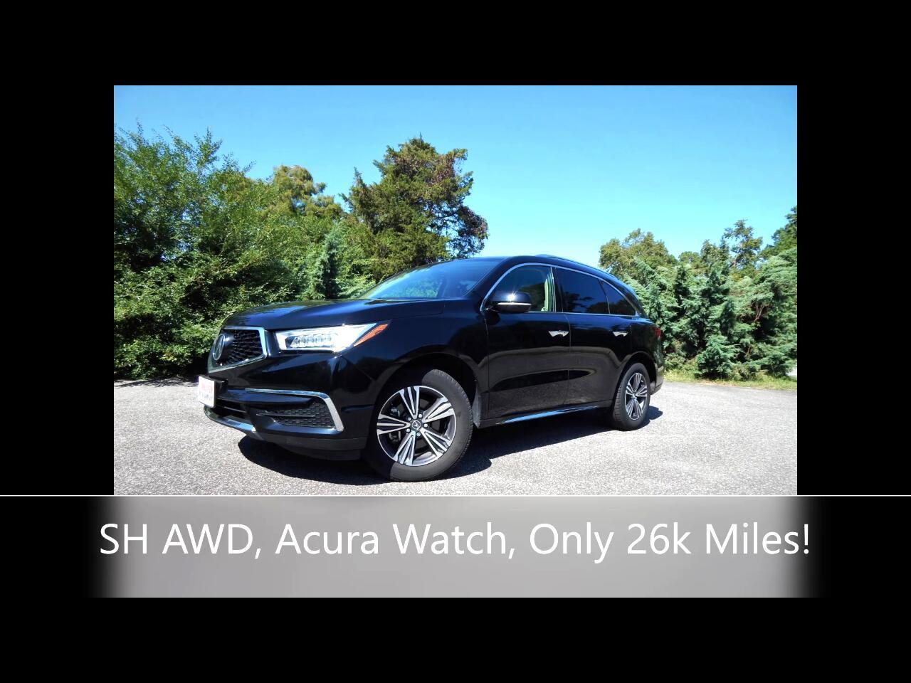 Acura MDX SH-AWD 4dr 2017