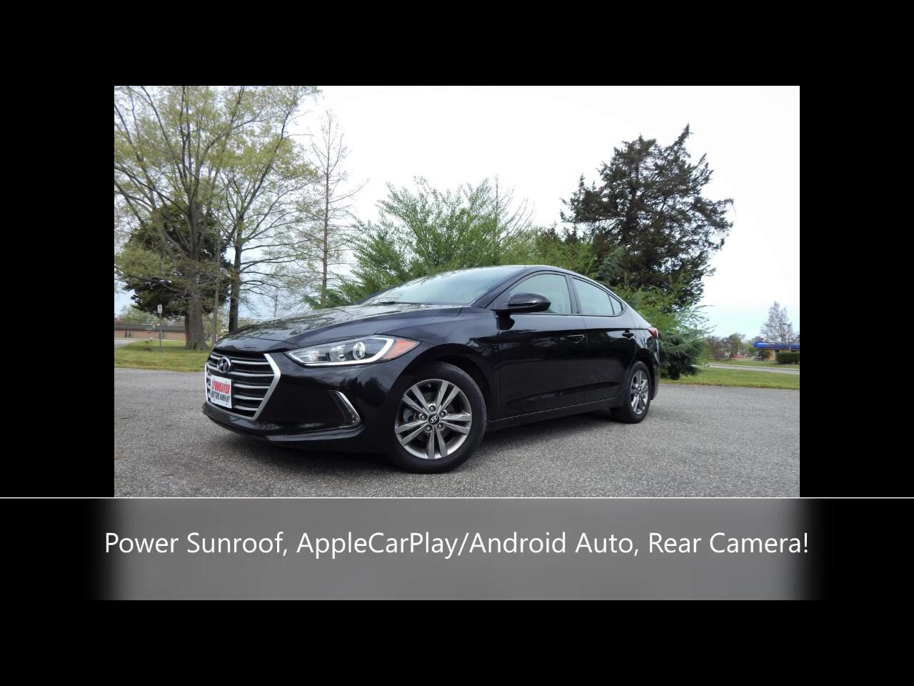 Hyundai Elantra Value Edition Auto 2017