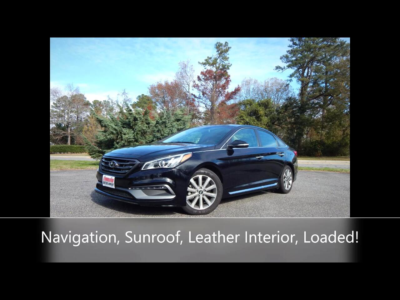 Hyundai Sonata 4dr Sdn 2.4L Auto Limited PZEV 2017