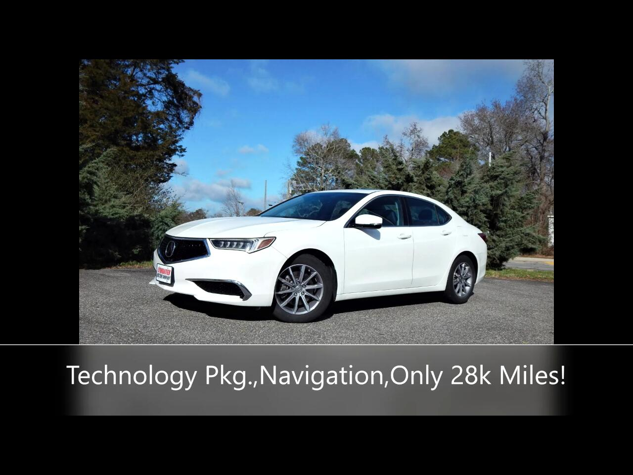 Acura TLX Technology Package 2.4L 2018