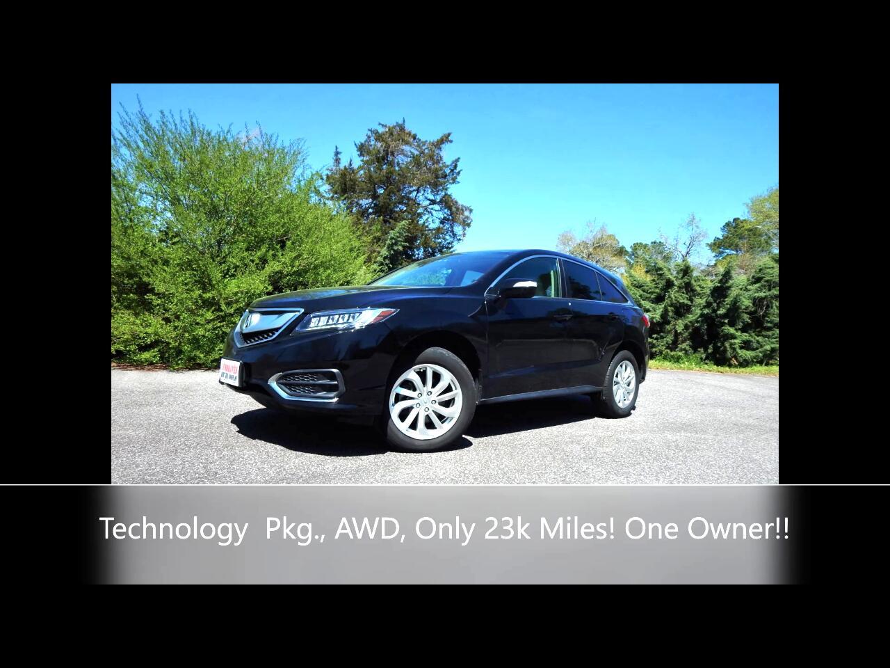 Acura RDX AWD w/Technology Pkg 2018