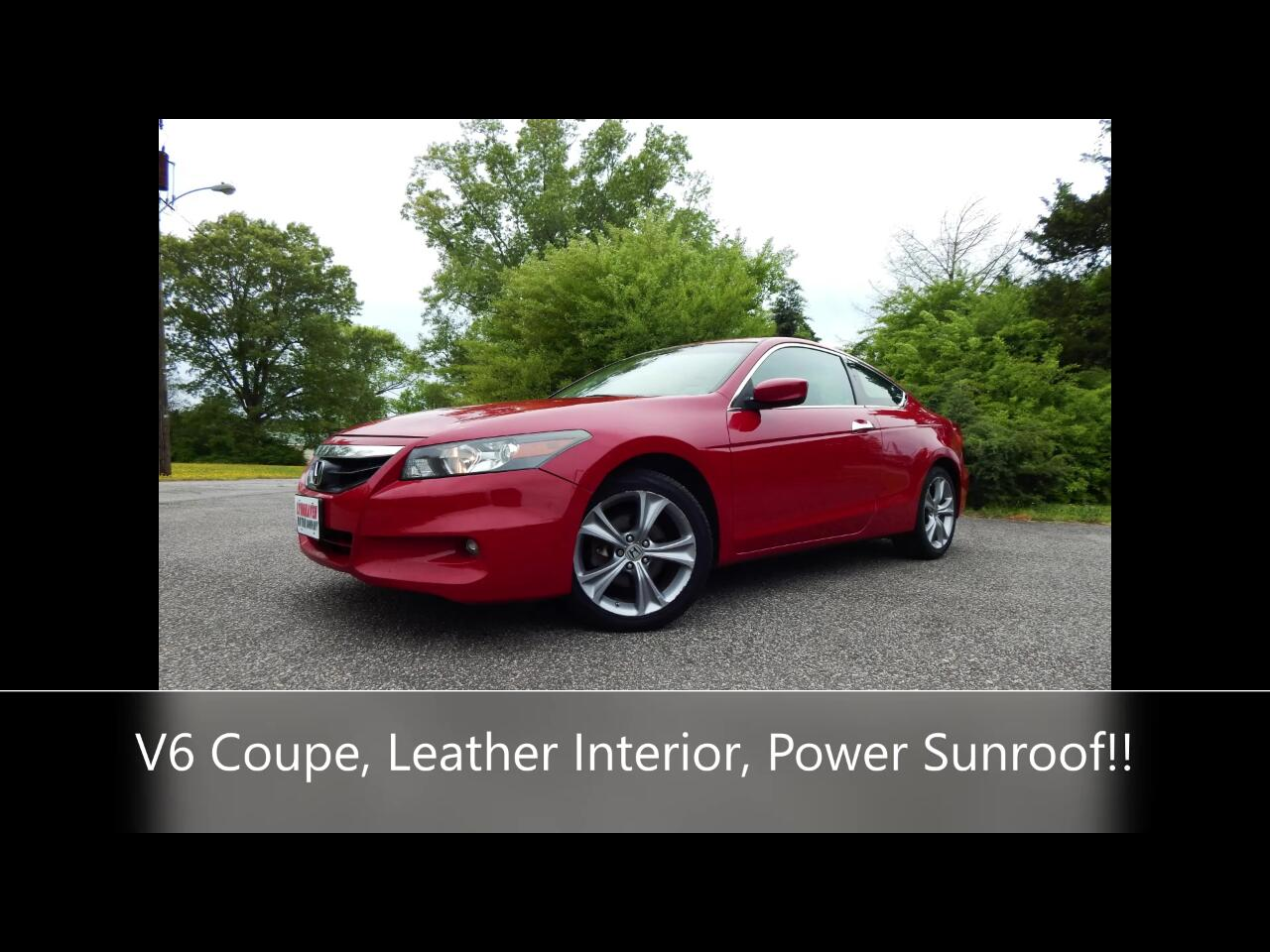 Honda Accord EX-L V6 Coupe AT 2012