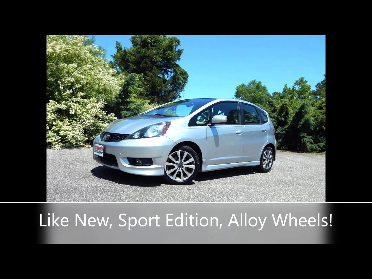 Honda Fit Sport 4D Hatchback 2013