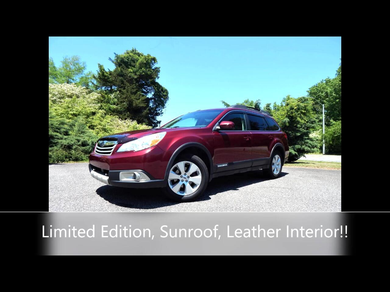 Subaru Outback 2.5i Limited 2012