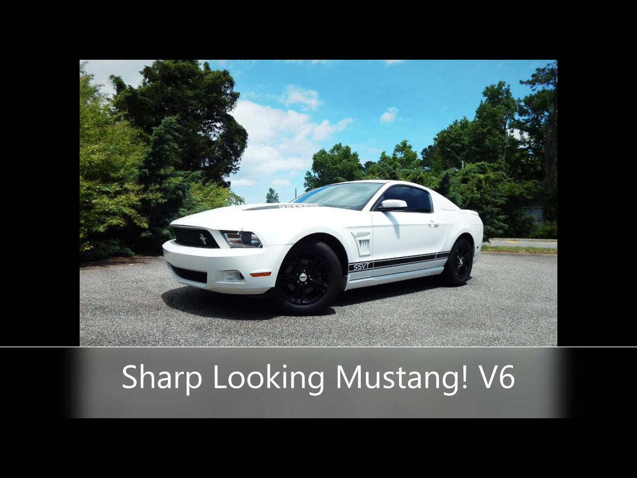 Ford Mustang 2dr Coupe 2012