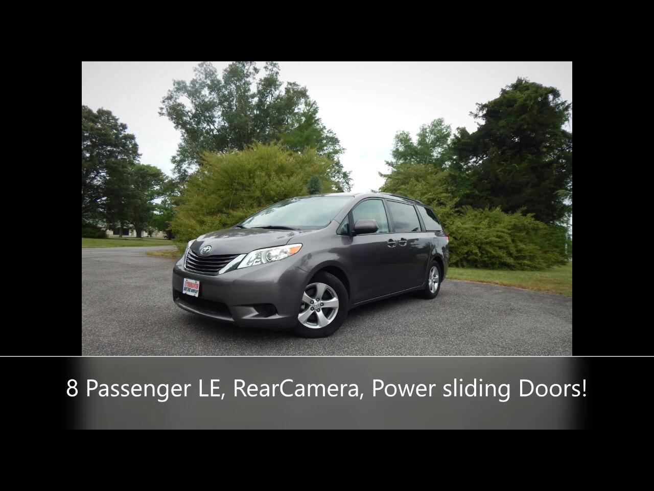 Toyota Sienna LE FWD 8-Passenger V6 2014