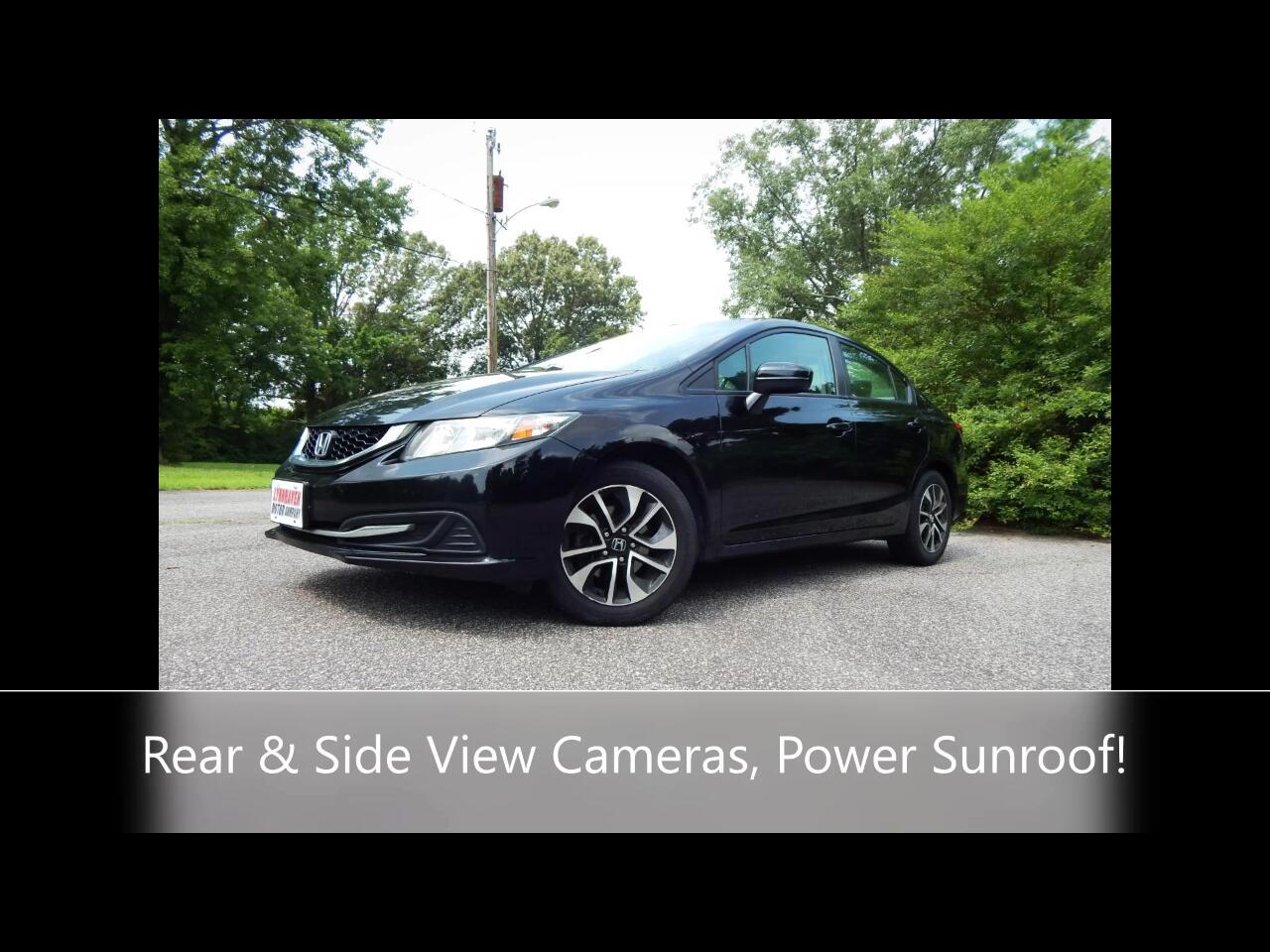 Honda Civic EX Sedan CVT 2014