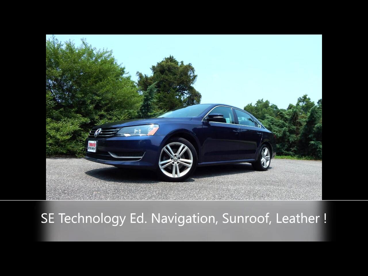 Volkswagen Passat 1.8T SE w/Technology Auto 2014
