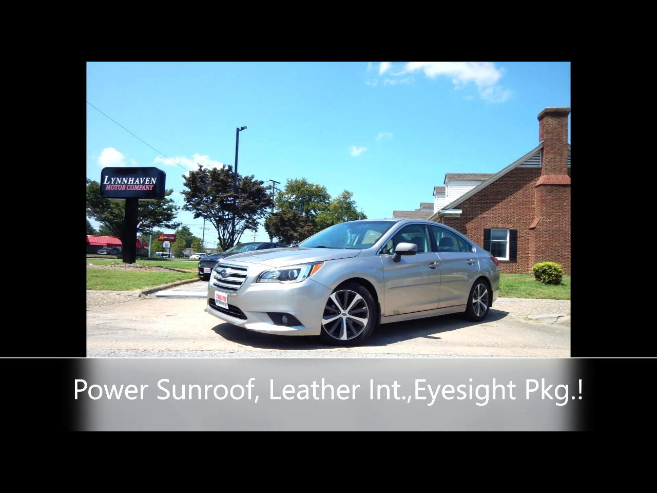 Subaru Legacy 2.5i Limited 2016