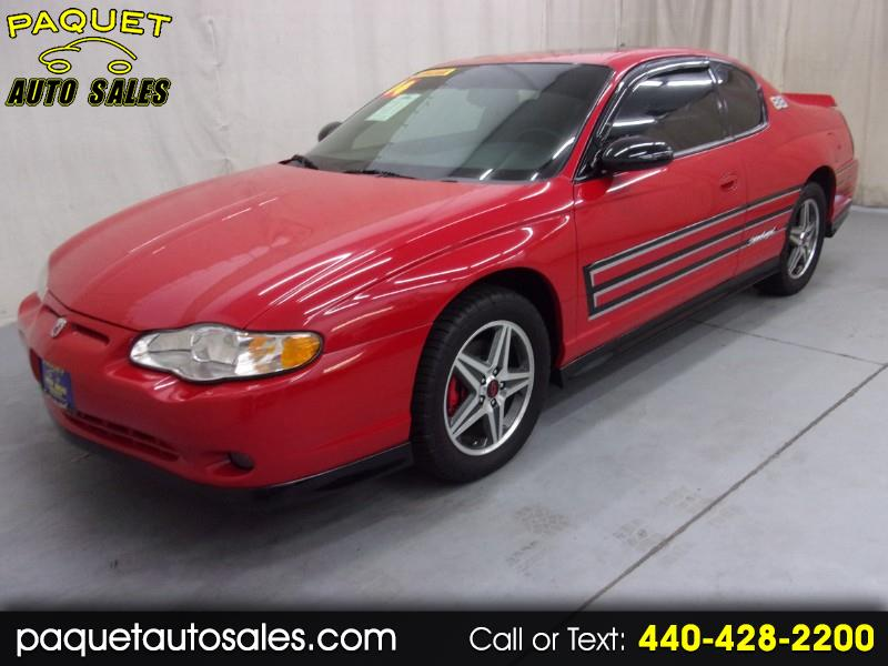 2004 Chevrolet Monte Carlo DALE EARNHARDT JR. EDITION