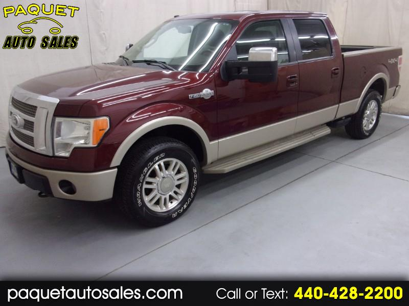 2009 Ford F-150 King Ranch 4WD SuperCrew 6.5' Box