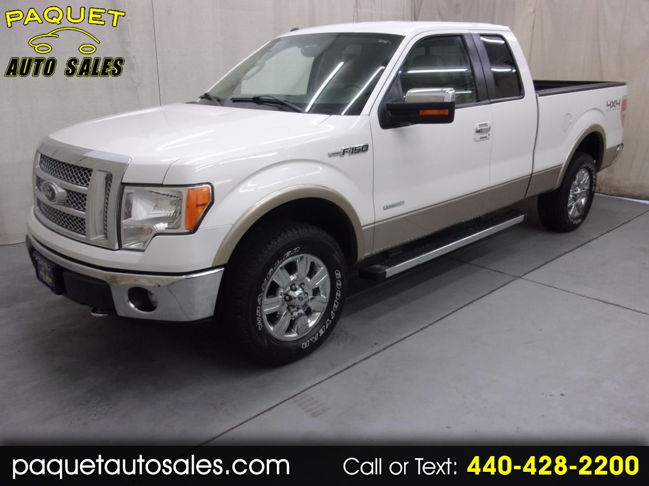 2011 Ford F-150 Lariat SuperCab 6.5-ft. 4WD