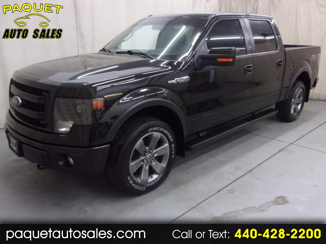 "Ford F-150 4WD SuperCab 133"" FX4 2013"