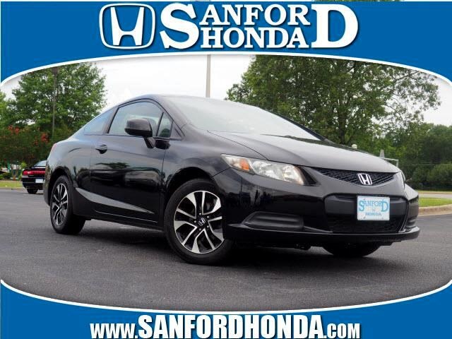 Honda Civic EX Coupe 5-Speed AT 2013