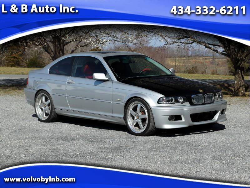 BMW 3-Series 325Ci coupe 2002