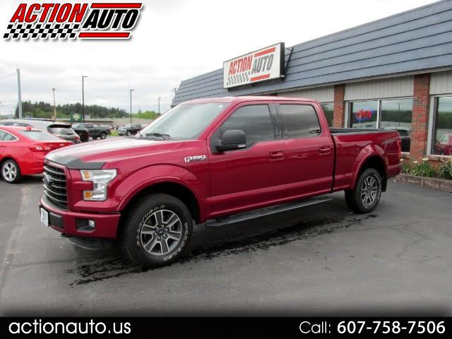 2016 Ford F-150 XLT SuperCrew Sport 6.5-ft Bed 4WD
