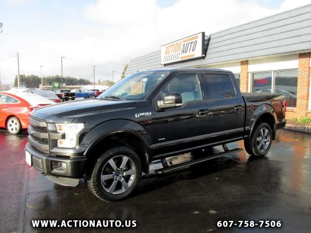 2015 Ford F-150 Lariet SuperCrew Sport 5.5-ft Bed 4WD