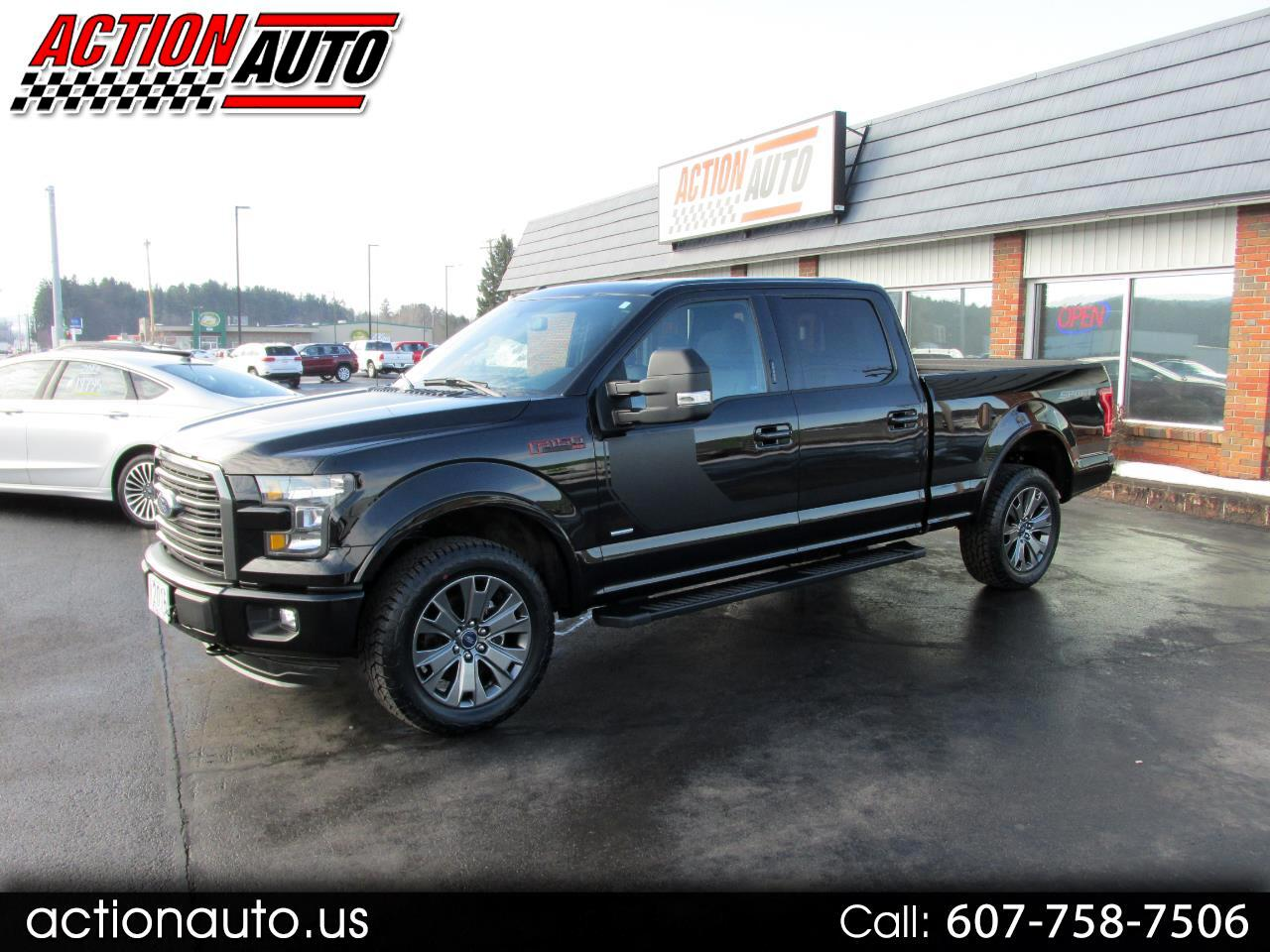 2016 Ford F-150 XLT Special Editon SuperCrew 6.5-ft Bed 4WD