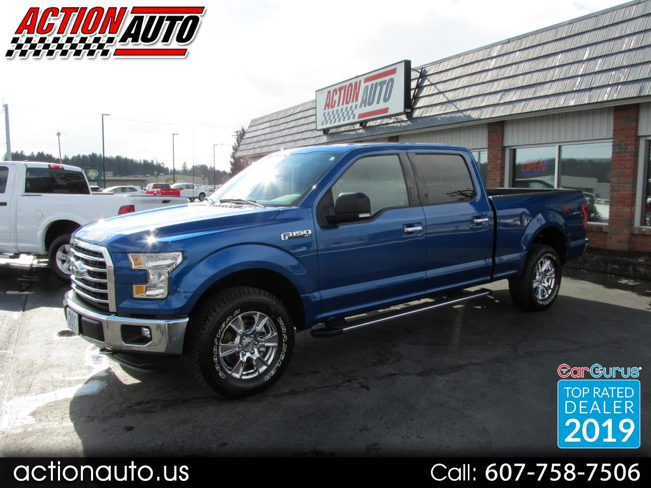 2017 Ford F-150 XTR SuperCrew 6.5-ft. Bed 4WD