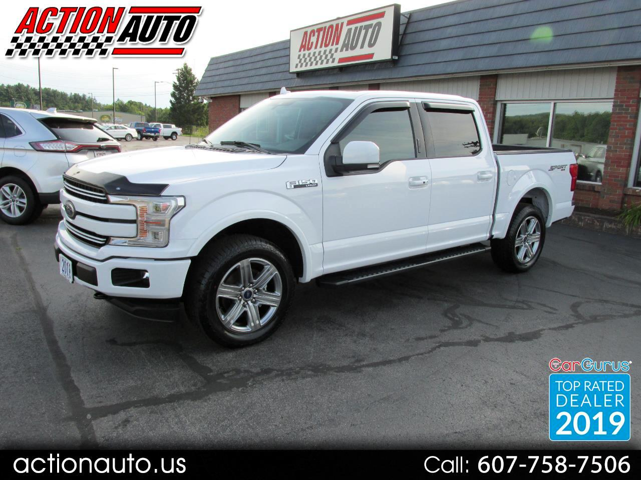 2018 Ford F-150 4WD SuperCrew 157